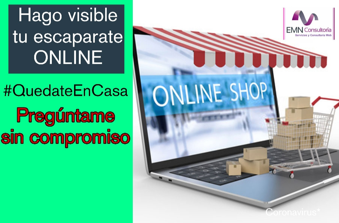 Tu escaparate online VISIBLE.